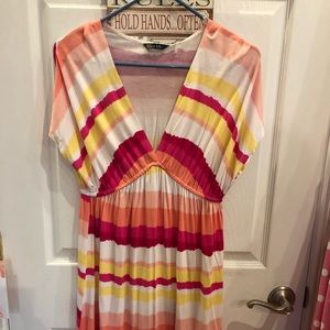 NWT Nicole Miller beach cover up